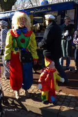 früh übt wer mal ein großer Clown werden will