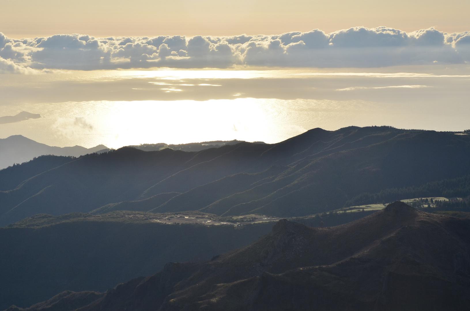 Früher Blick vom Pico Arieiro