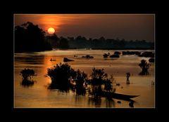 Früher Morgen am Mekong