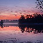 Früher Morgen am Teich