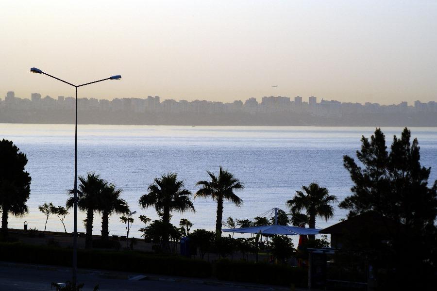 Früher Morgen in Antalya