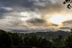Früher Morgen in Sabah