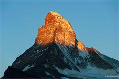 ... früher Morgen - Matterhorn