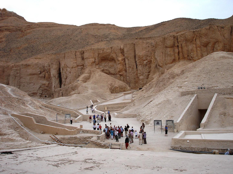 Früher war das eine geheime Grabanlage - heute ist es ein Touristenmagnet
