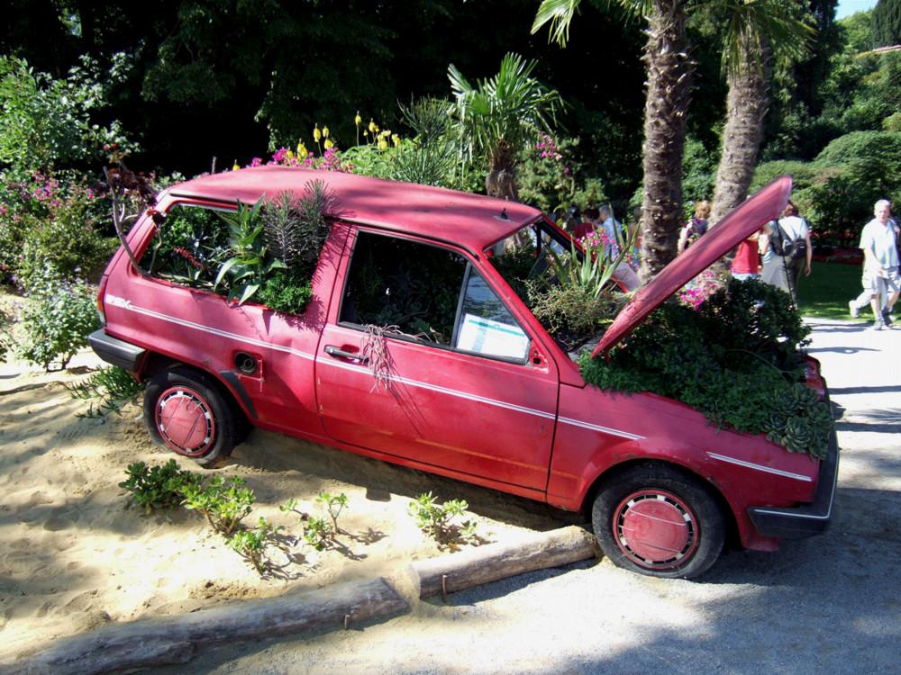 Früher war ich einmal ein Auto.....