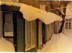 Früher war - noch richtig Schnee - Winter.