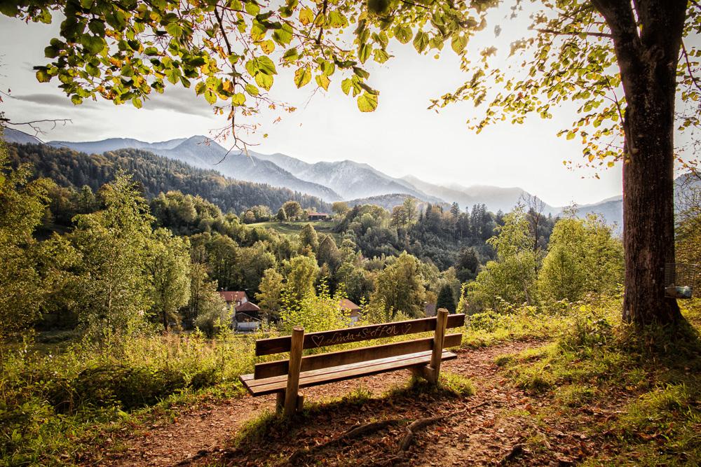 Frühherbst im Oberland