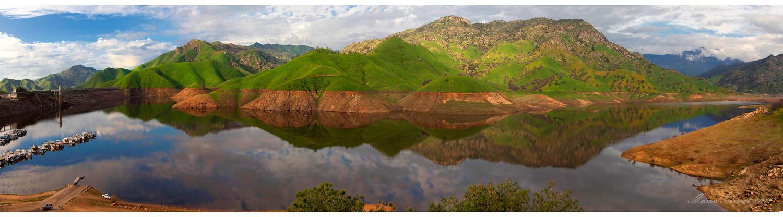 Frühling am Lake Kaweah