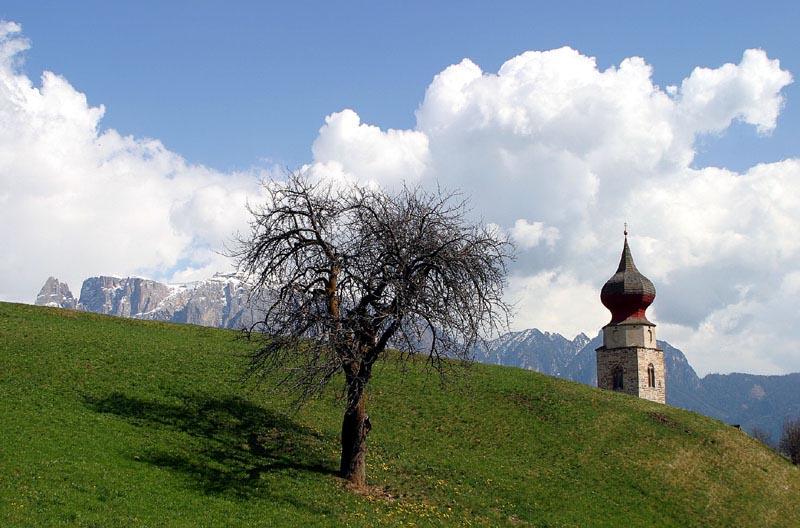 Frühling am Ritten - Südtirol
