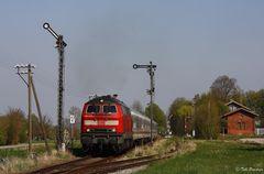 Frühling an der Rottalbahn