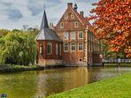 Frühling auf Burg Hülshoff