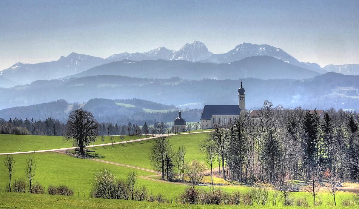 Frühling Bayern
