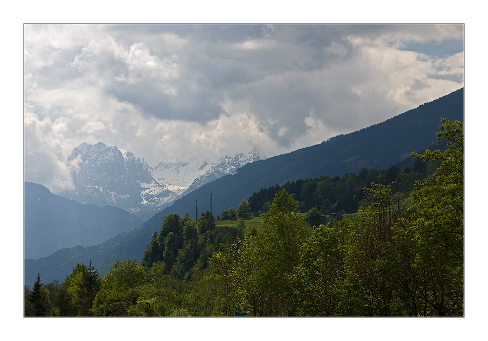 Frühling in den Alpen