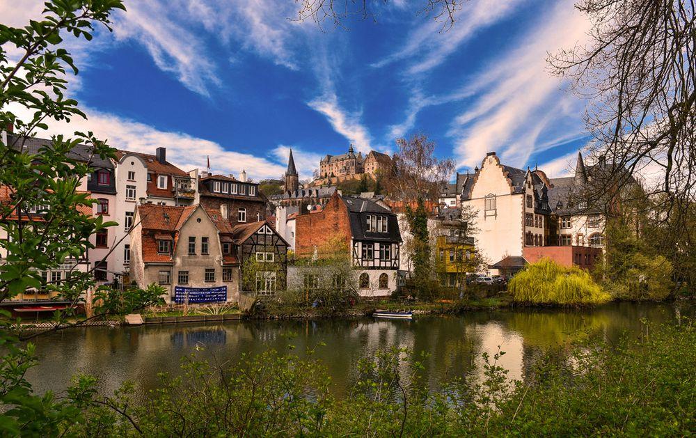 Frühling in Marburg I