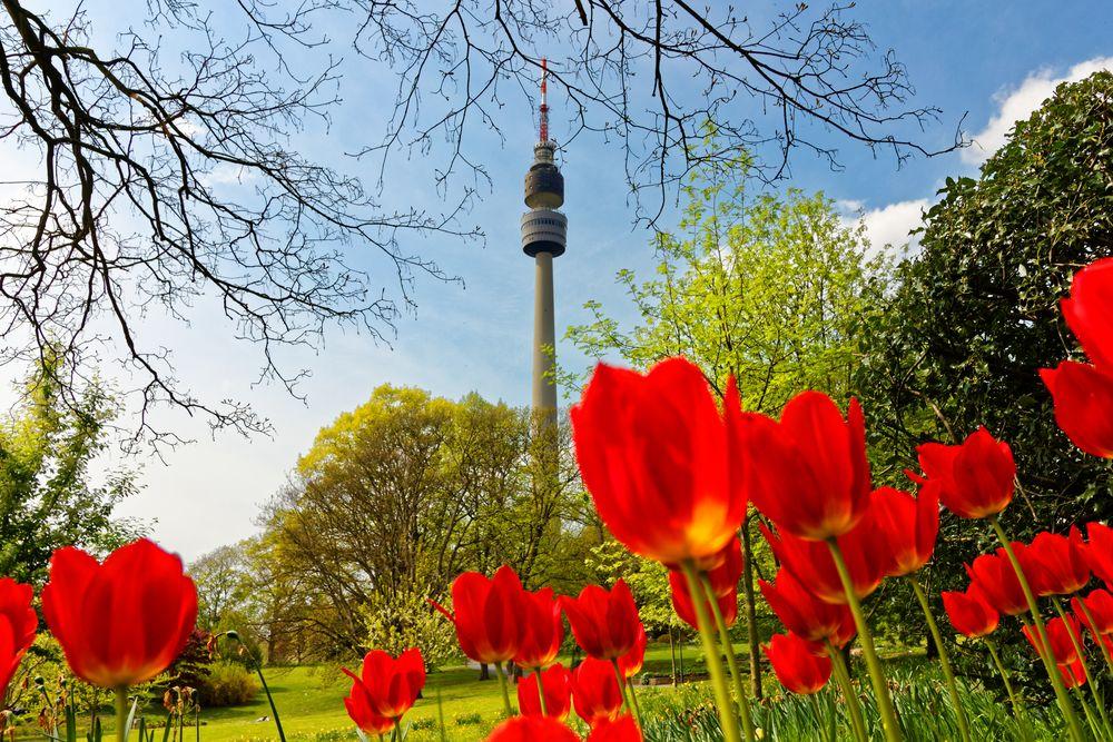 """Frühling lässt sein blaues Band..."