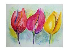 Frühling - nur gemalt....