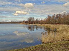 Frühlingsanfang am Stausee Wangenheim