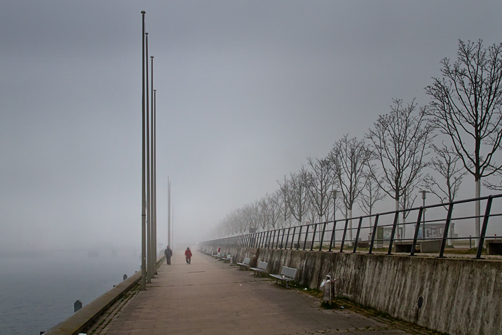 Frühlingsbeginn in Kiel