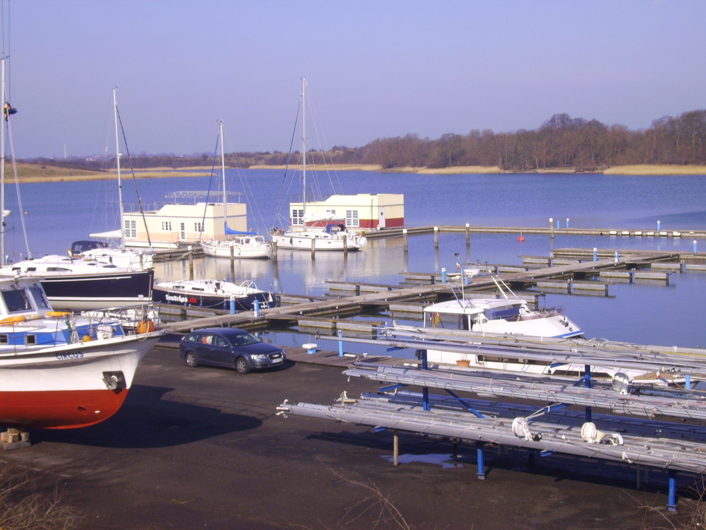Frühlingserwachen im Marina Neuhof im Strelasund