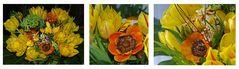 Frühlingsfarben-Collage