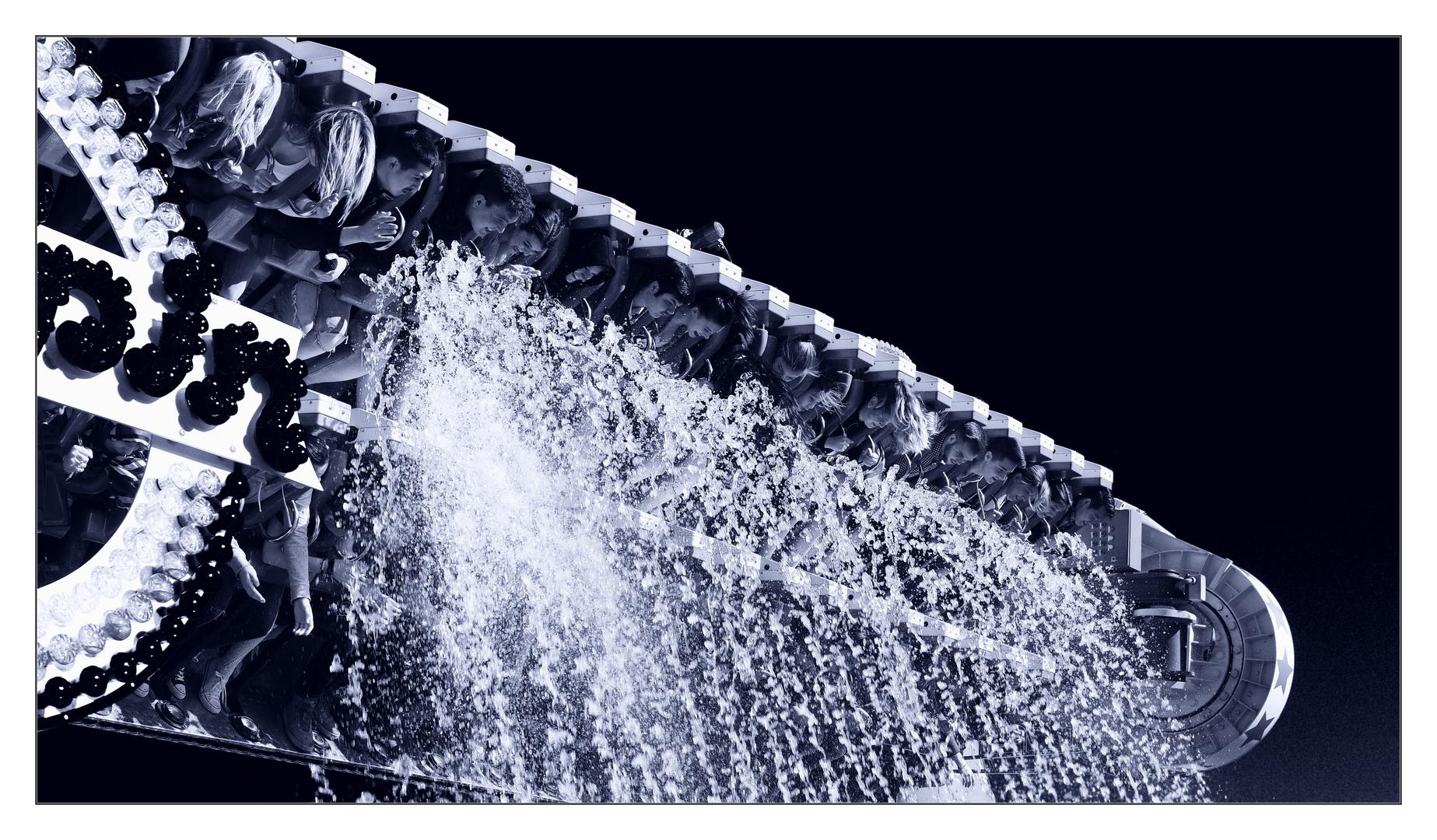 Frühlingsfest München - Dusche gefällig :)