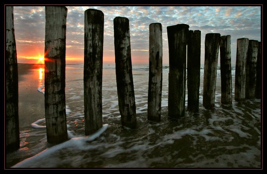 Frühmorgens am Meer (2)