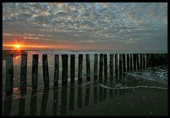 Frühmorgens am Meer