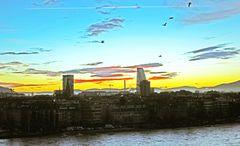 Frühmorgens am Rhein