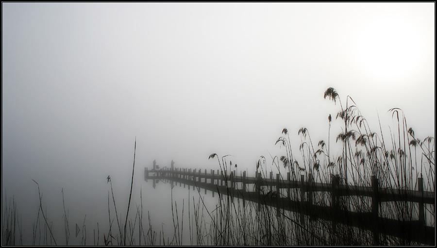 Frühmorgens am See