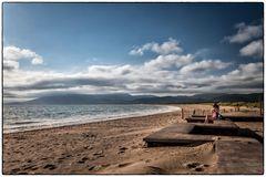 Frühmorgens am Strand