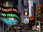 Frühmorgens am Times Square