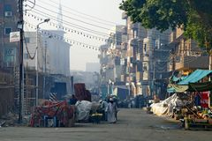 Frühmorgens in Edfu