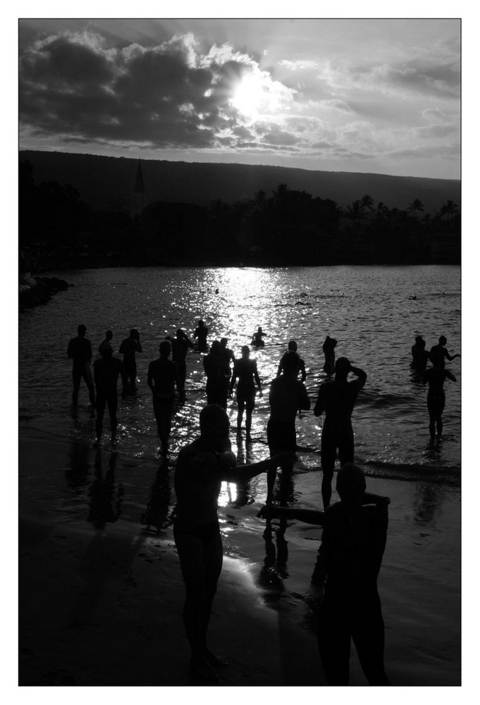 Frühsport bei Sonnenaufgang