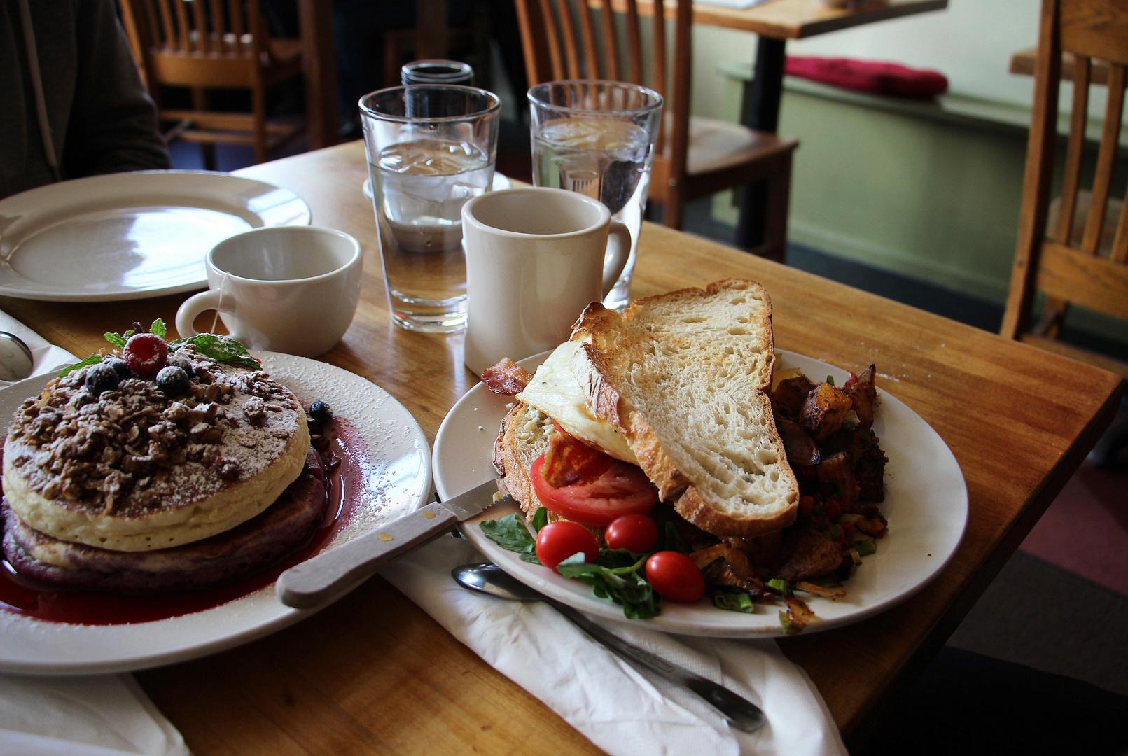 Frühstück in Chicago