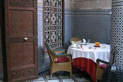 Frühstücksecke im Riad - Marrakech