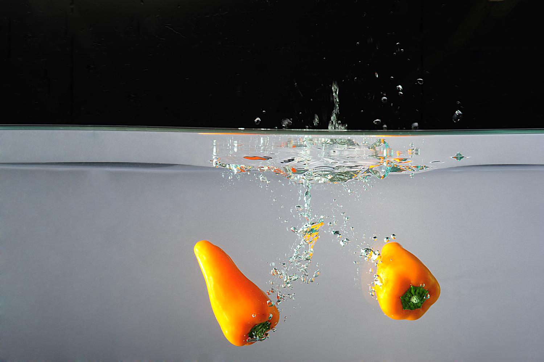 Fruit diving...