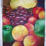 frutas de baleaeres-öl auf grober leinwand-80x60cm-preis auf anfrage.