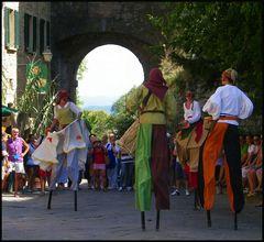 Fête médiévale en Toscane