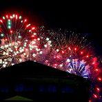 Fuegos Artificiales para Fín de Fiestas.