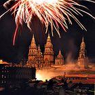Fuegos del Apóstol en Santiago de Compostela