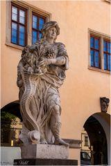 Fülle-Skulptur