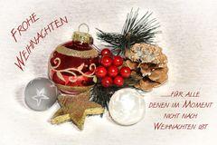 ...für alle denen im Moment nicht nach Weihnachten ist