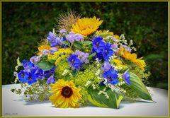 Für Blumenwesen zum Geburtstag