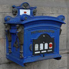 Für den blauen Brief?