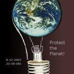 Für den Klimaschutz! Aktion am 8.12.2007 um 20:00 bis 20:05 Uhr!