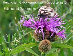"""Für Edmund zum Geburtstag einen """" Osterzgebirgler"""" aus dem August und..."""