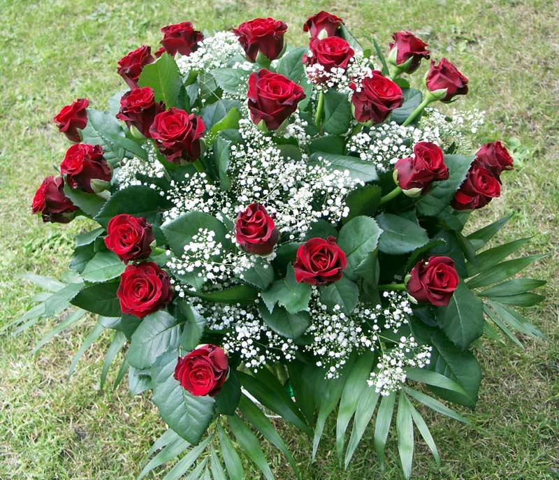 Für jedes Jahr eine Rose.