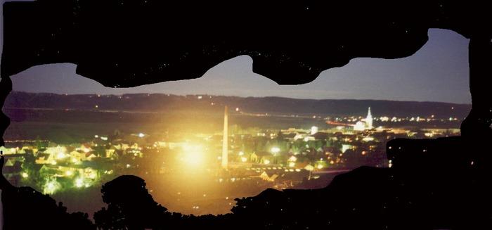 Fürstenfeld bei Nacht