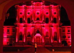Fürstenfeld in Rot