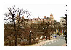 Fürstenhof aus Richtung Kurpark